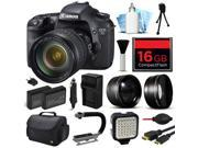 Canon EOS 7D Digital Camera with 28 135mm IS USM Lens 16GB Essential Bundle