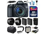 Canon EOS 70D DSLR SLR Digital Camera with 18 135mm Lens 32GB Essential Bundle