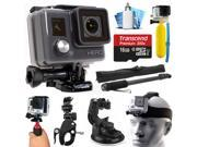 GoPro HD HERO Waterproof Action Camera Camcorder with 16GB Deluxe Accessories Bundle includes microSD Card + Floating Bobber + Selfie Stick + Stabilizer Holder 9SIA04D2RX6661