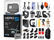 GoPro Hero 5 HERO5 Black with Floating Strap + Deluxe Cleaning Kit + X-Grip Stabilizer + Car Suction Cup + Backpack 9SIA04D50Y0499