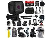 GoPro HERO5 Session HD Action Camera CHDHS 501 All You Need 16GB Accessories Kit with 16GB Card Case Selfie Stick Chest Head Strap Car Bike Mount