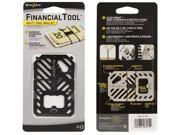 Nite Ize FinancialTool 7 in 1 Multitool Black