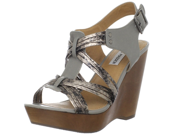 Steve Madden Women s Tampaa Strappy High Wedge