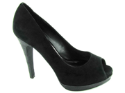 Steve Madden Women s Disobey Simple Suede Peep Toe Pump