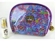 Ed Hardy Christian Audigier Perfume Cosmetic Bag Set