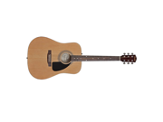 Fender FA100 Deluxe Acoustic Guitar Package - New