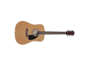Fender FA-100 Acoustic Guitar Rosewood Natural FA100 NEW