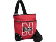 Ashley M Nebraska Huskers Cross Body Bag