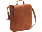 Le Donne Leather Distressed Leather 17in. Laptop Messenger