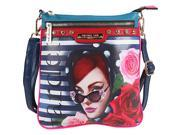 Nicole Lee Lady in Red Crossbody