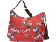 OiOi English Rose Hobo Diaper Bag