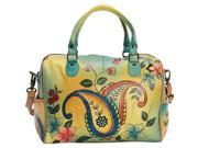 ANNA by Anuschka Hand Painted Large Satchel