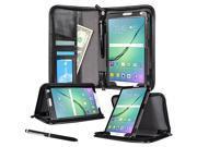 rooCASE Samsung Galaxy Tab S2 9.7 Case - Executive Portfolio Leather Smart Cover