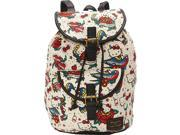 Loungefly Hello Kitty Tattoo Canvas Backpack