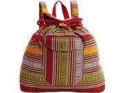 Scully Southwest Stripe Backpack Handbag