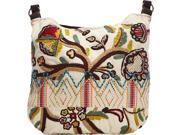 Scully Embroidered Shoulder Bag