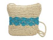 Magid Color Block Crochet Crossbody