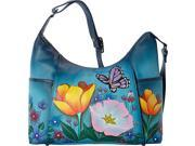 ANNA by Anuschka Hand Painted Large Shoulder Hobo