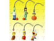Simpsons Figure Charm Collection 1 Halloween Series Set