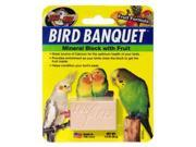 Zoo Med BB-FS Bird Banquet Block Fruit Small
