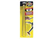 "Zoo Med 10"" Stainless Steel Feeding Tongs"