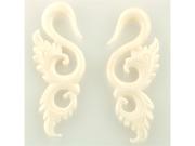 Pair of Bone Swans: 0g