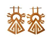 Pair of Ra's Palace Stirrups: 18g