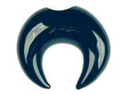 Glass Septum Pincher: 2g Black