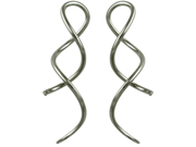 Pair of Stainless Steel Priestesses: 8g
