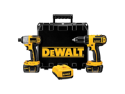 DeWALT DCK265LR 18V Nano Drill Driver Impact Kit Combo (Reconditioned DCK265L)