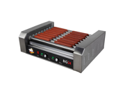 Roller Dog Commercial 24 Hot Dog 9 Roller Grill Cooker Machine - RDB24SS 9SIA05F0186969