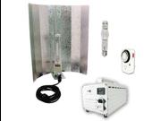 Virtual Sun 400W HPS MH Air Cooled Reflector Magnetic Grow Light Kit 400 Watt
