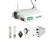 Virtual Sun 600W HPS MH Grow Light Hood Reflector Magnetic Ballast Kit 3pk