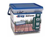 KREG SDK-C2SS-700 2-Inch, #8 Coarse, Stainless Steel Deck Screw, 700 Count