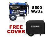 DuroMax 8500 Watt Portable Gas Powered Camping RV Generator - XP8500E With Cover