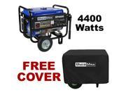DuroMax 4400 Watt Portable Gas Power Generator Recoil Start - XP4400 With Cover