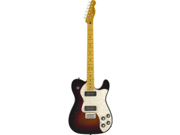 Fender Modern Player Tele Thinline Plus, Maple, 3-Color Sunburst