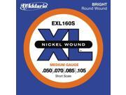 D Addario EXL160S Bass Guitar Strings Short Scale 1 Set