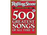 Selections from Rolling Stone's 500 Greatest Songs Solos for Violin