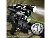 4x30 IR Electro Sight With Green Laser and 210 LUM Flashlight COMBO