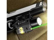 Barska Green Laser with 200 Lumen Flashlight