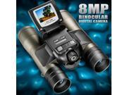 Barska AH11410 8X32 Point N View Binocular Camera, 8.0MP, 1.5