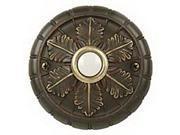 Craftmade Traditional Surface Mount Medallion Doorbell - BSMED-AZ