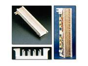 Leviton 40066-M25 66 Connecting Block - 50 Rows of 4 Clips