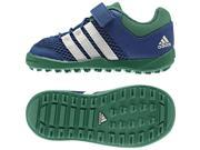 Adidas Outdoor 2016 Infant Daroga Plus AC I Water Sport Shoes - AF3915 (EQT Blue/Chalk White/Blanch Green - 5K)