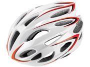 Vittoria V500 Road Cycling Helmet (White/Red - S/M)