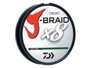 Daiwa J-Braid Fishing Line-120Lb Test 1650 Yards-Dark Green - JB8U120-1500DG
