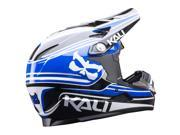 Kali Protectives 2017 Zoka Moto Full Face Helmet (Slash Blue/Black - XL) 9SIA05Y5A90285