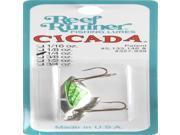 Reef Runner Tackle Cicada 1/4Oz Slvht Grn - C30102 9SIA05Y6DV4253