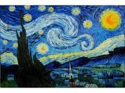 Van Gogh Paintings: Starry Night - Hand Painted Canvas Art